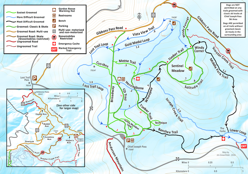 Trail Map - Classic Trails