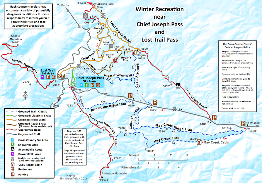 Trail Map - All Trails